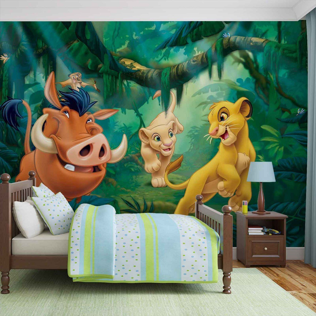 Best Disney Lion King Pumba Simba Wall Paper Mural Buy At With Pictures