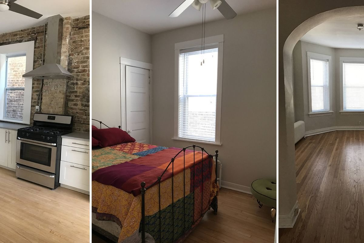 Best Renovated Albany Park Three Bedroom Apartment Rents For 1 600 Curbed Chicago With Pictures