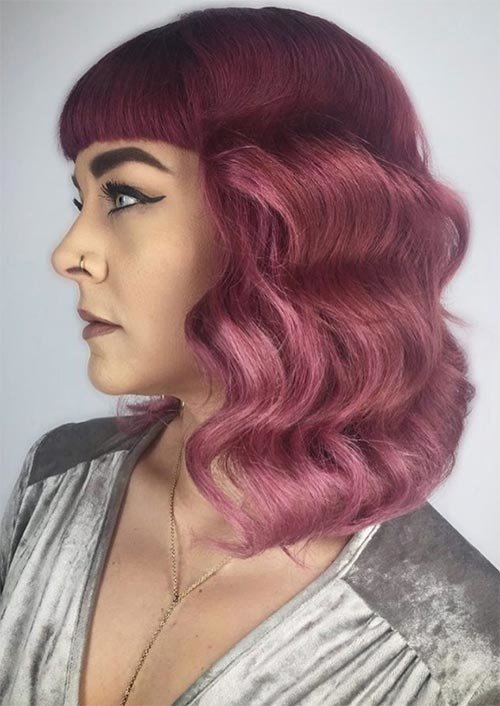 Free 53 Coolest Winter Hair Colors To Embrace In 2019 Glowsly Wallpaper