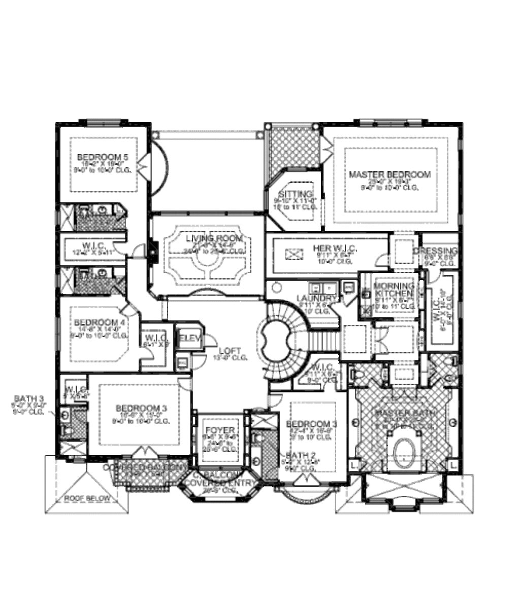 Best Mediterranean Style House Plan 7 Beds 8 50 Baths 7883 Sq With Pictures