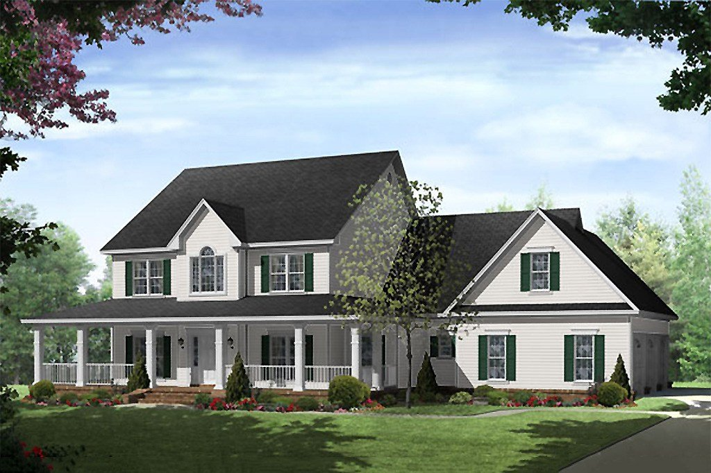 Best Country Style House Plan 4 Beds 3 5 Baths 3000 Sq Ft With Pictures