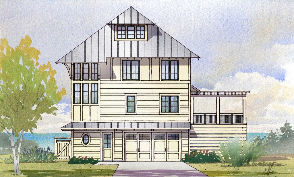 Best Beach Style House Plan 5 Beds 4 Baths 3331 Sq Ft Plan With Pictures