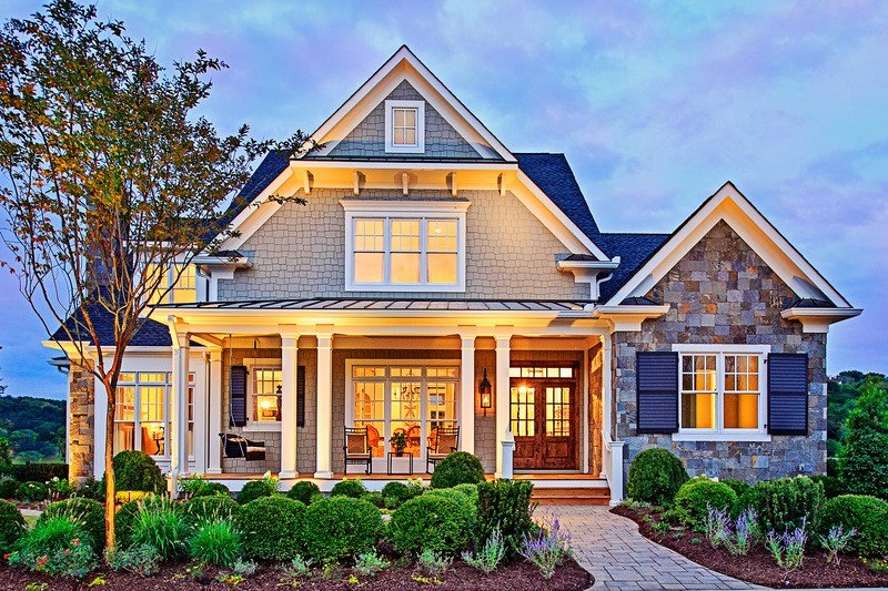 Best Craftsman Style House Plan 4 Beds 5 5 Baths 3878 Sq Ft With Pictures