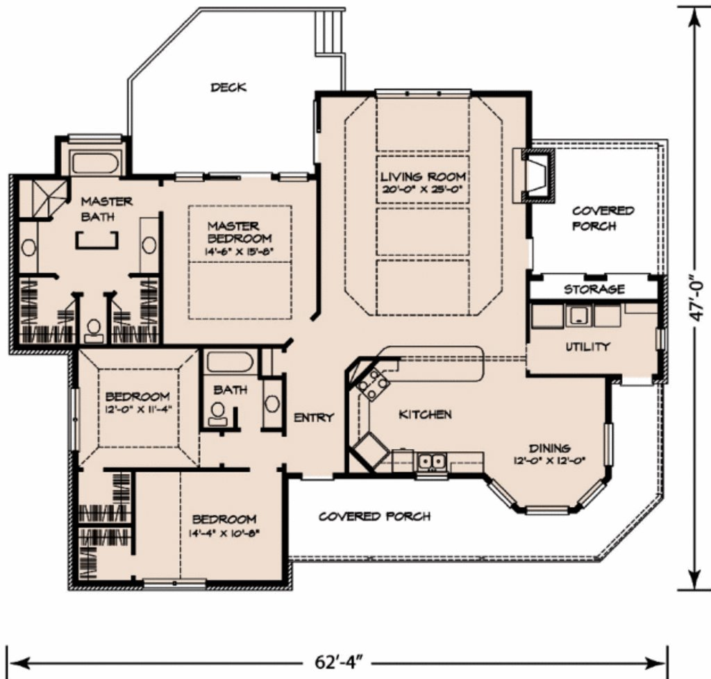 Best Country Style House Plan 3 Beds 2 Baths 1963 Sq Ft Plan With Pictures