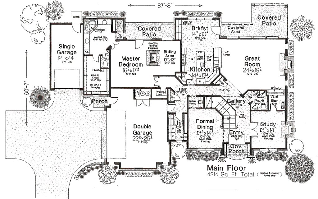 Best European Style House Plan 4 Beds 3 50 Baths 4214 Sq Ft With Pictures