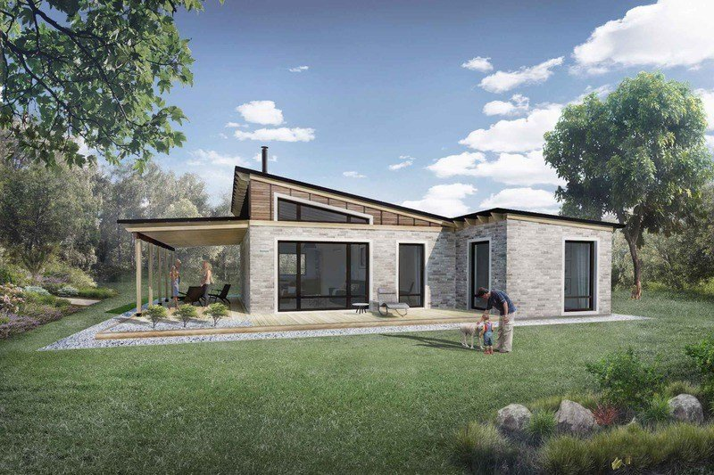 Best Modern Style House Plan 2 Beds 1 Baths 850 Sq Ft Plan 924 3 With Pictures