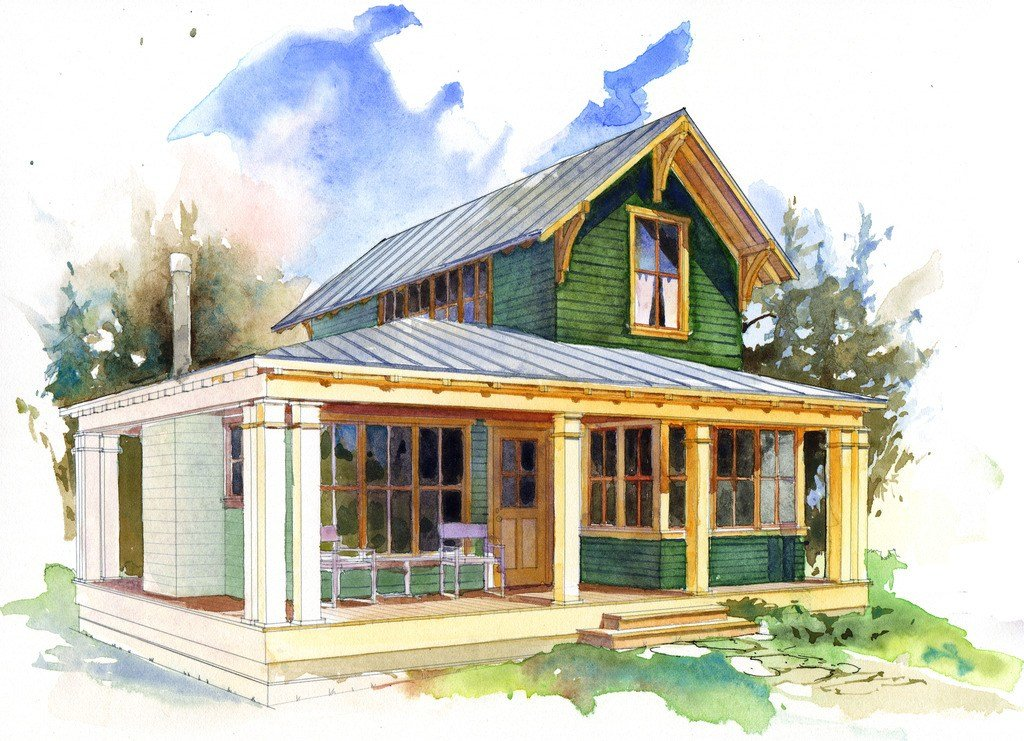 Best Cottage Style House Plan 1 Beds 1 5 Baths 780 Sq Ft Plan With Pictures
