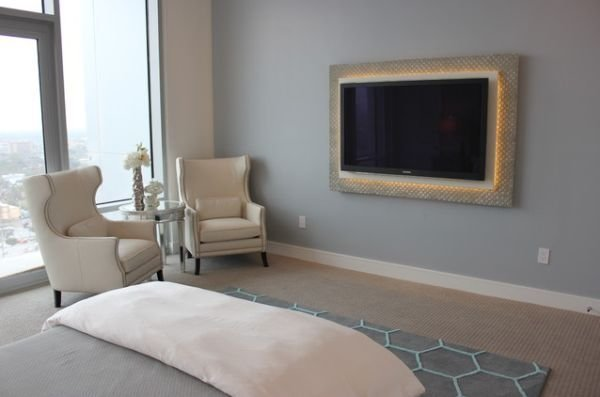Best Beautiful Interiors Featuring Wall Mounted Tvs With Pictures