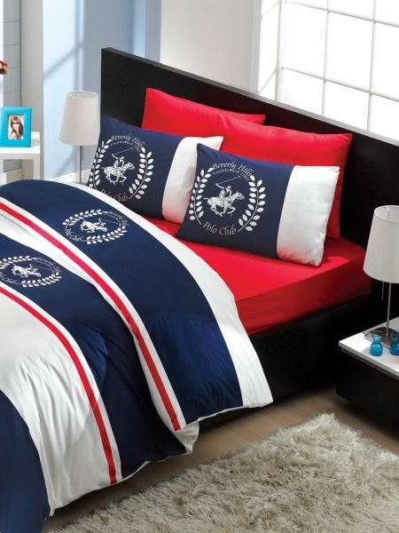 Best Beverly Hills Polo Club Satin Single Quilt Cover Set With Pictures