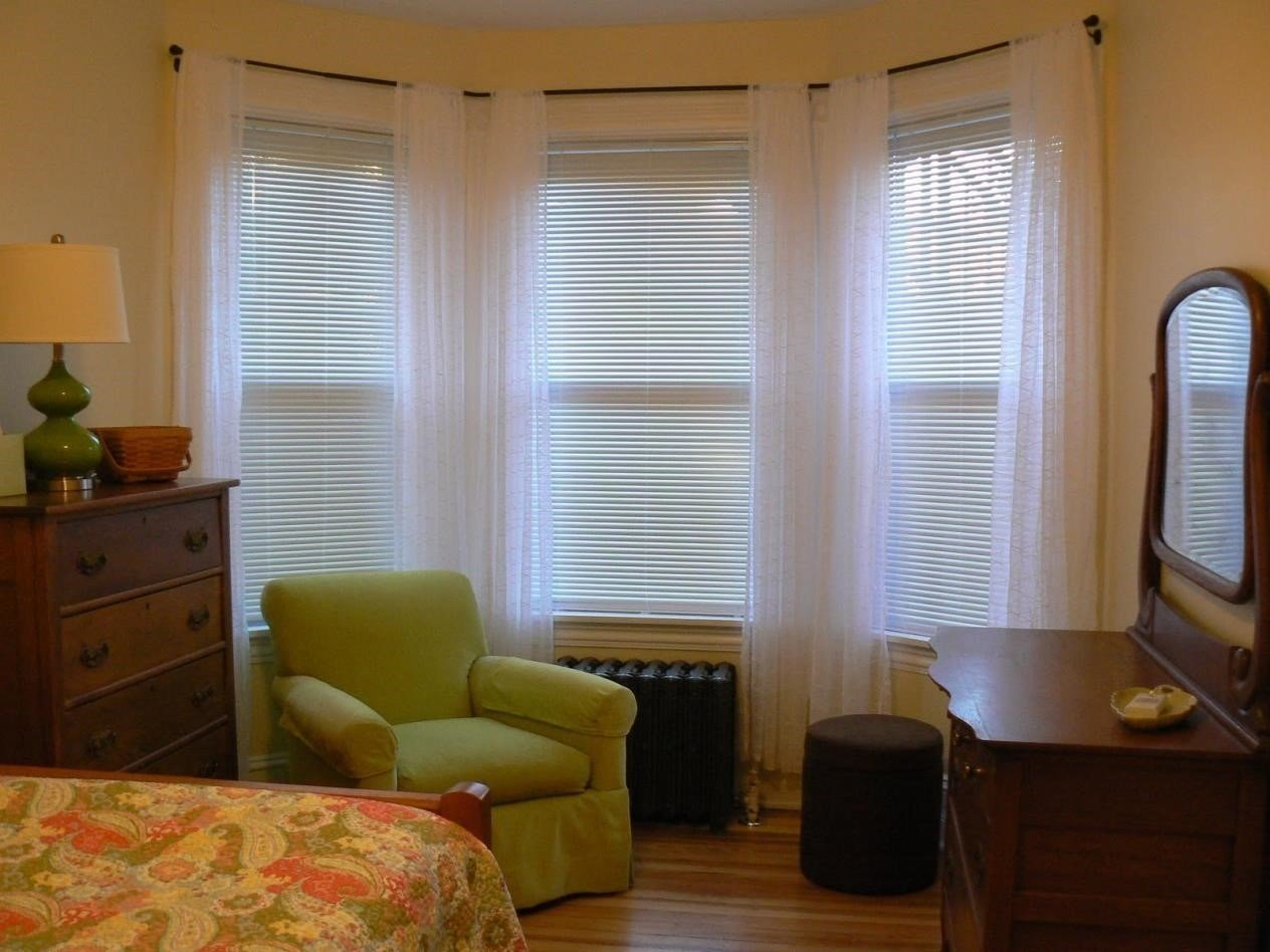 Best 15 Collection Of Blackout Curtains Bay Window Curtain Ideas With Pictures