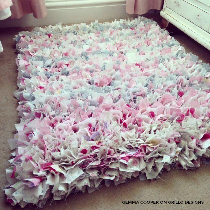 Best How To Make A Diy Rag Rug Using Old Bedding With Pictures