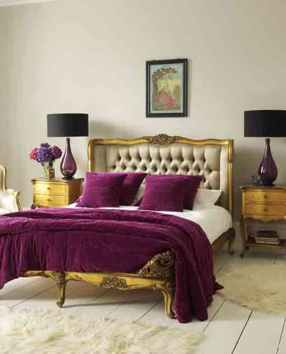 Best Bedroom Ideas With Gray And Purple Home Delightful With Pictures