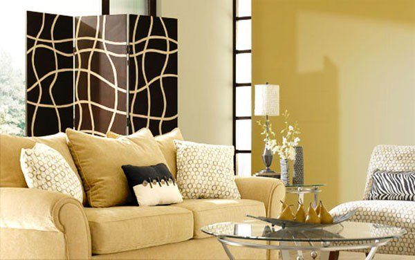 Best Living Room Contemporary Paint Colors Design « Home Living With Pictures
