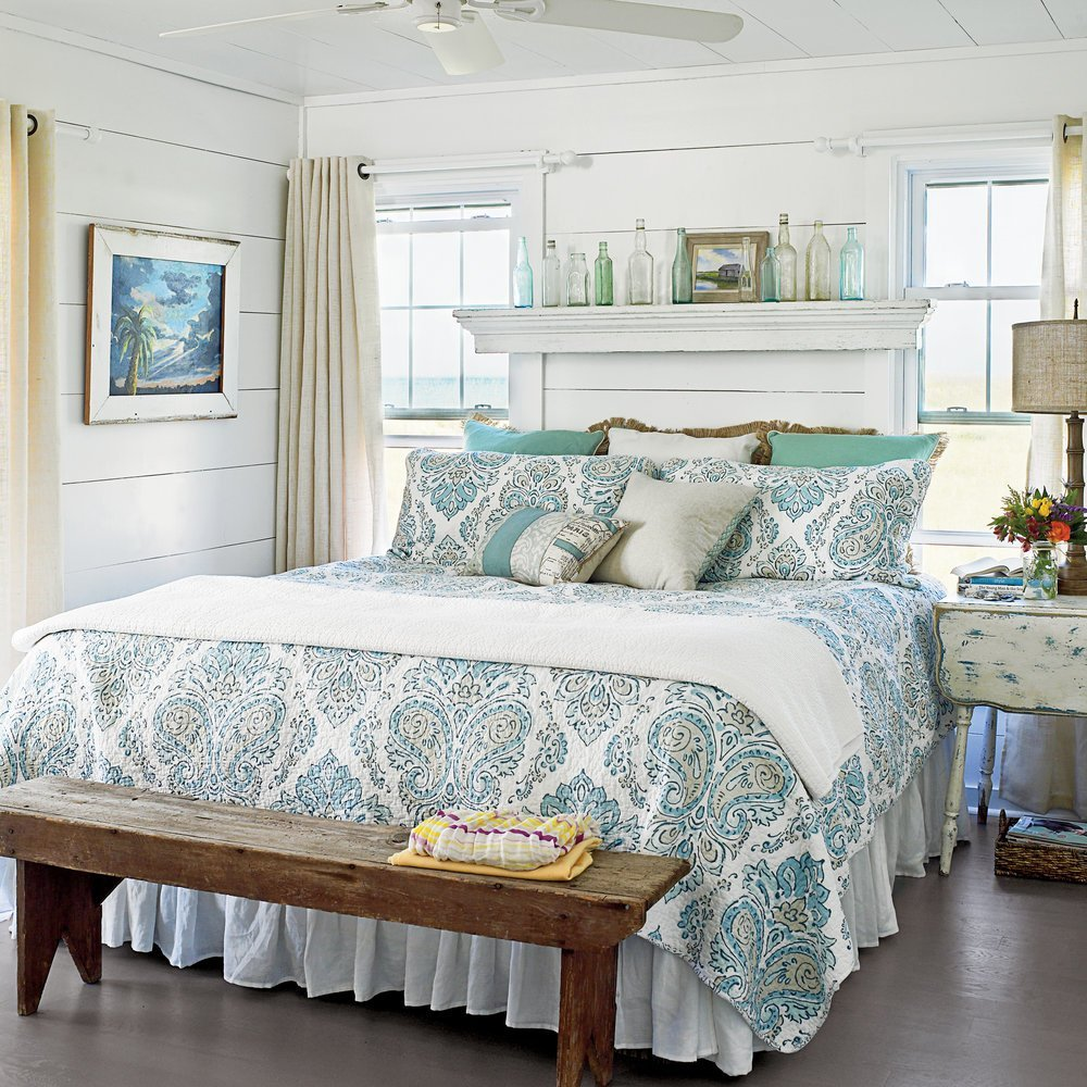 Best Ideas For Blue Bedrooms Coastal Living With Pictures