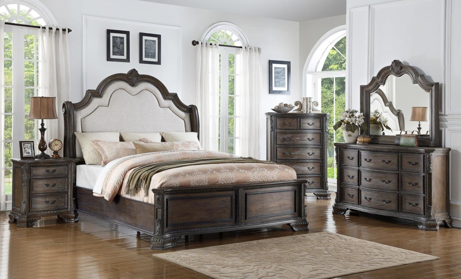 Best Grey Bedroom Set For Sale Only 2 Left At 65 With Pictures