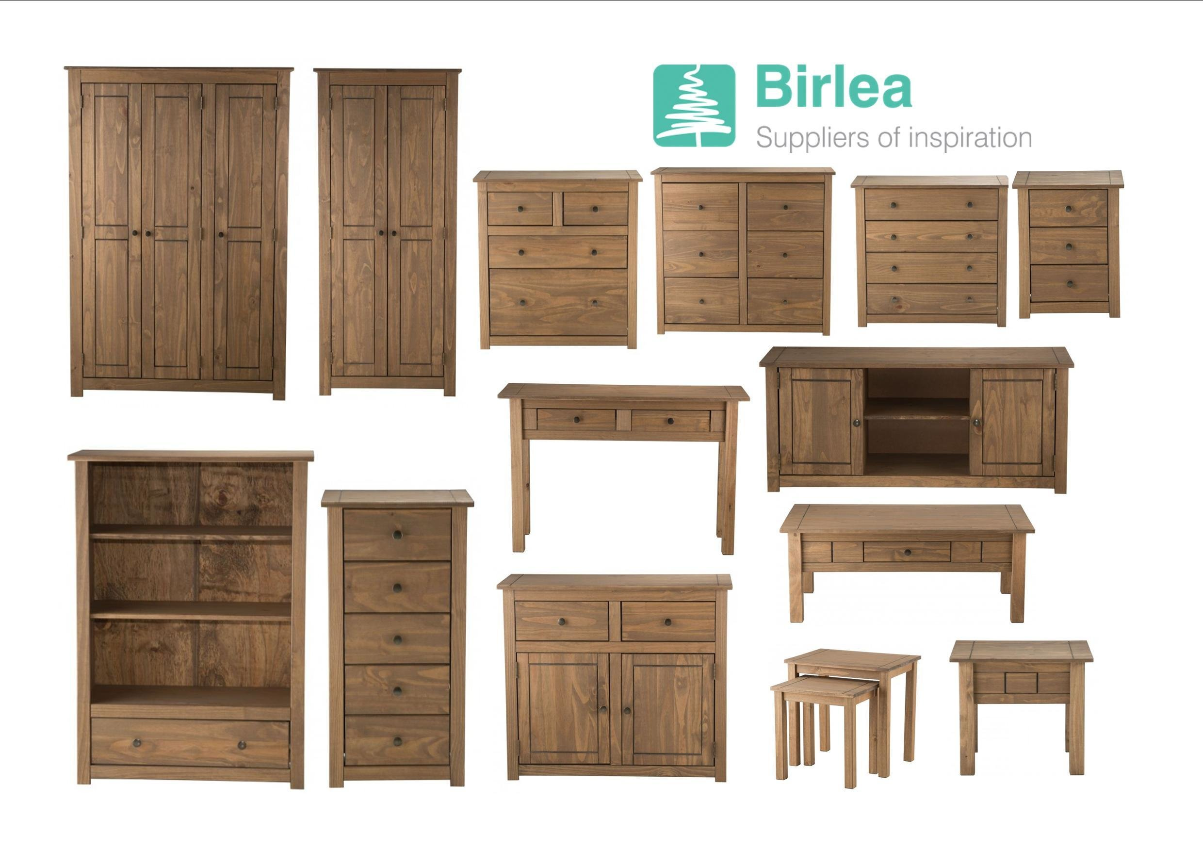 Best Birlea Santiago Solid Pine Bedroom Living Room Furniture With Pictures