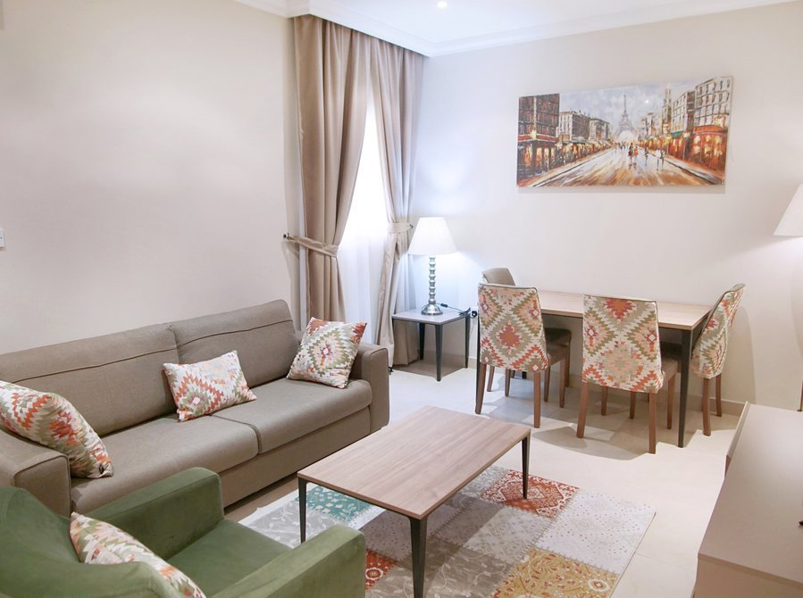 Best Luxurious 1 Bedroom Apartment In Doha Al Jadeed For Rent With Pictures