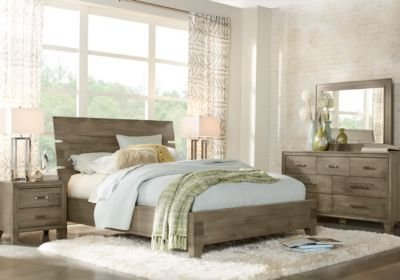 Best Crestwood Creek Gray 7 Pc Queen Panel Bedroom Queen With Pictures