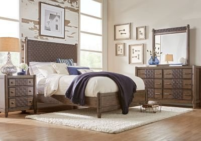 Best Edgewater Oak 5 Pc King Panel Bedroom King Bedroom Sets With Pictures