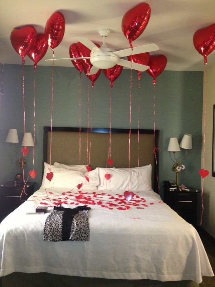 Best Valentines Surprise Hotel Room For Boyfriend Or Hubby He With Pictures