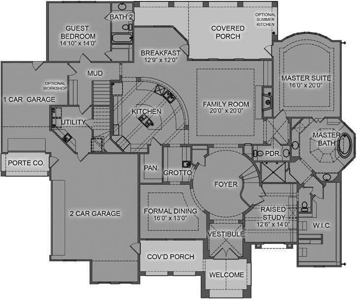 Best 155 Best Luxury Style House Plans Images On Pinterest With Pictures