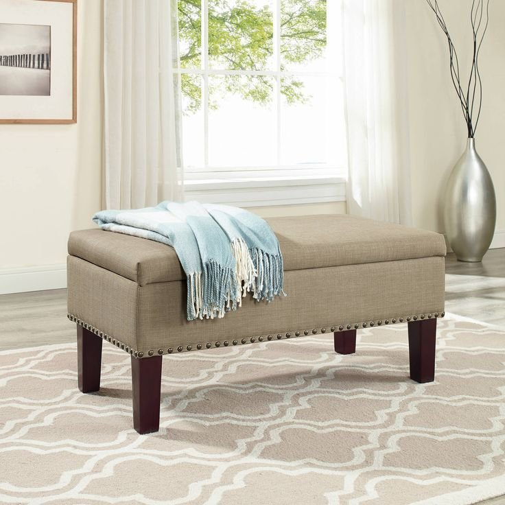 Best 16 Best Ottoman For Bedroom Images On Pinterest Bedroom With Pictures