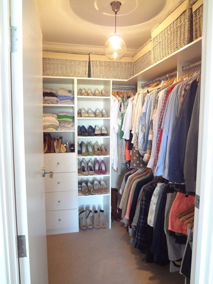 Best 430 Best Small Walk In Closet Ideas Images On Pinterest With Pictures