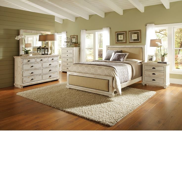 Best The Dump Furniture Willow White Master Distressed White Bedroom Furniture Distressed With Pictures