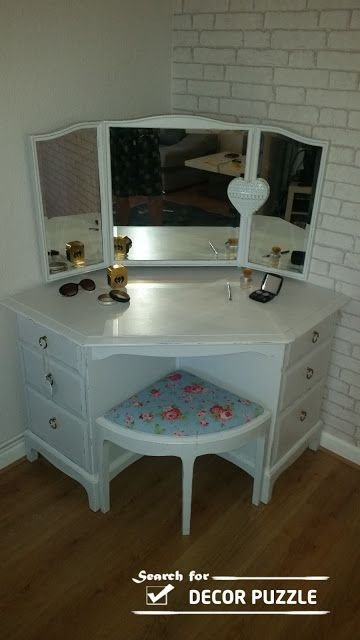 Best 25 Corner Vanity Ideas On Pinterest Corner Vanity Table Corner Dressing Table And With Pictures