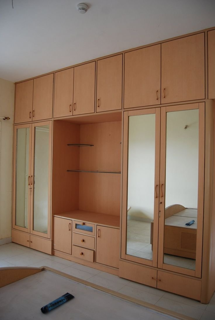 Best Bedroom Wardrobe Design Playwood Wadrobe With Cabinets With Pictures