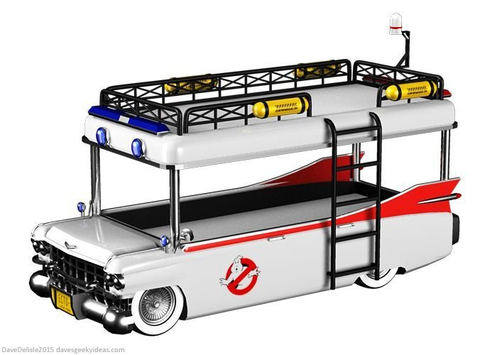 Best Ghostbusters Bunk Bed By Davesgeekyideas Ghostbusters Bedroom Bunk Beds Kids Bunk Beds Kid With Pictures