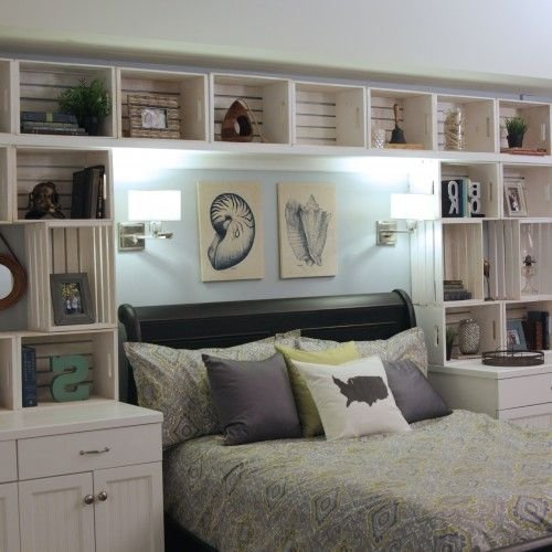 Best 77 Best Guest Bedroom Over The Bed Storage Images On With Pictures