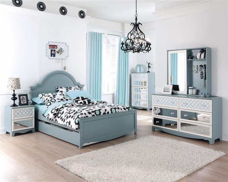Best Tiffany Blue T**N Bedroom Ideas Tiffany Turquoise Blue Girls Kids French Inspired Bed Bedroom With Pictures