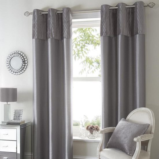 Best Silver Opulence Curtain Collection Dunelm Decoration With Pictures