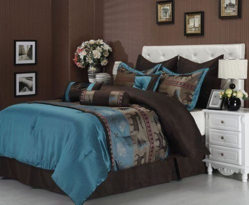 Best 90 Best Teal And Brown Bedding Images On Pinterest With Pictures