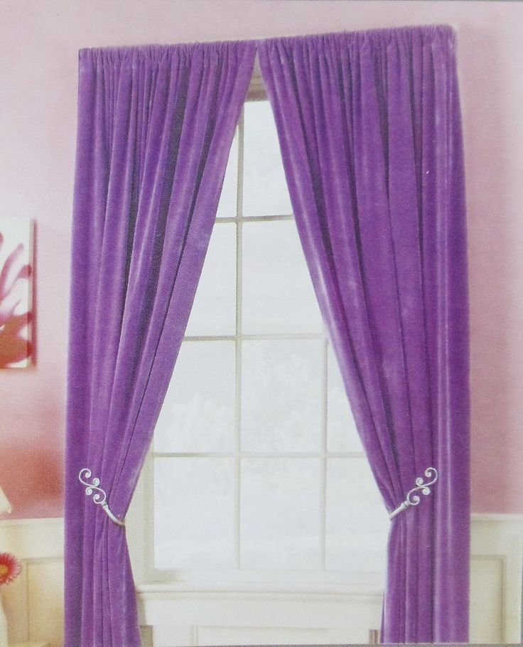 Best Sweet Violet Bedroom Curtain Photos Collection With Pictures