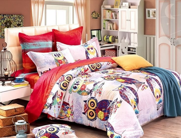 Best 168603579772849111 Super Cute Owl Duvet Cover Set Owl With Pictures