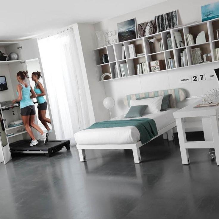 Best Home Gym Spare Bedroom Office And Study Room Design Inspiration Would Also Make An Ideal With Pictures