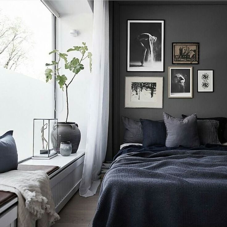 Best 25 Dark Gray Bedroom Ideas On Pinterest Dark Gray With Pictures