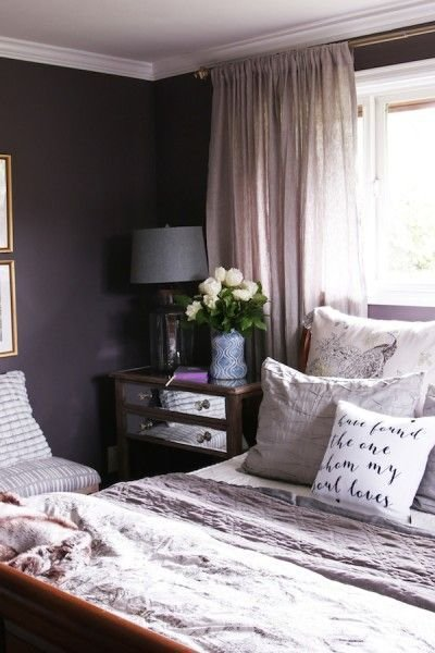 Best 25 Plum Bedroom Ideas On Pinterest Purple Accent With Pictures