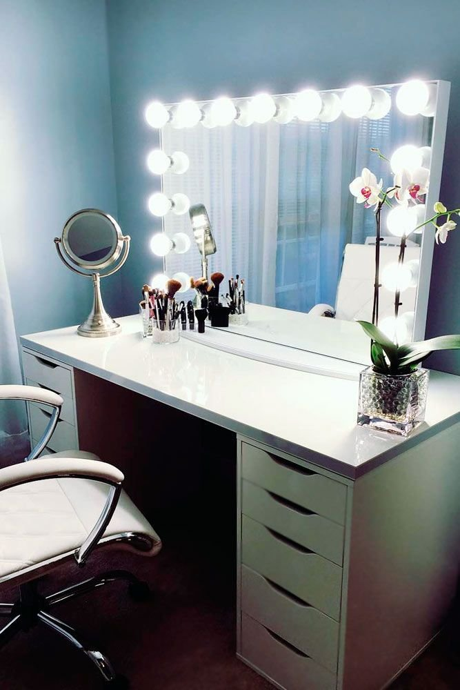 Best 25 Corner Makeup Vanity Ideas On Pinterest With Pictures