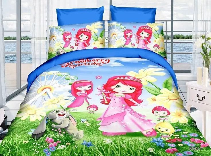 Best 44 Best Strawberry Shortcake Bedding Images On Pinterest 3 4 Beds Bedroom Ideas And Bedrooms With Pictures