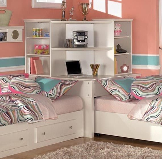 Best 32 Best Split Bedroom Ideas For Children Images On Pinterest Child Room Kids Rooms And Play Rooms With Pictures