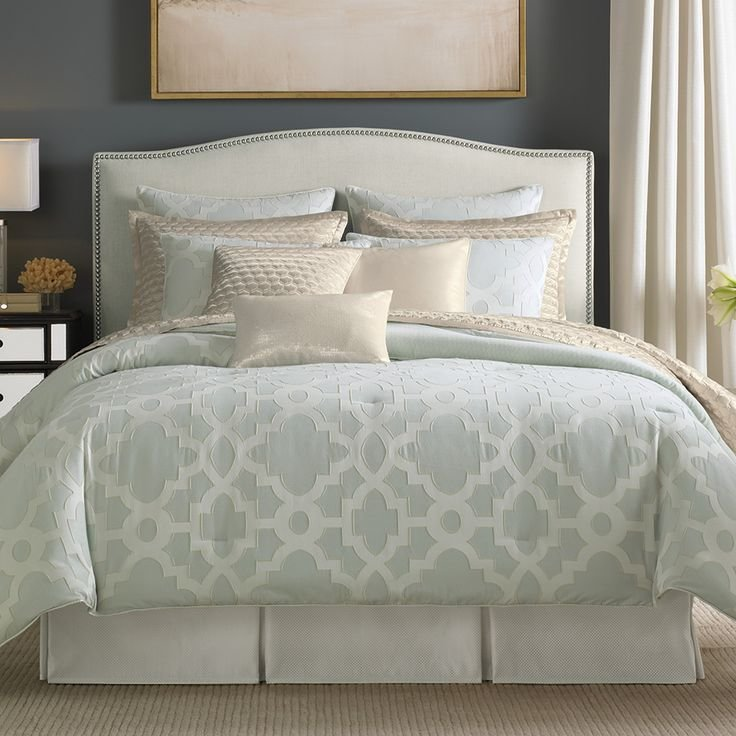 Best Candice Olson Bedding Candice Olson Cachet Comforter Set Ice Blue Bedding Pinterest With Pictures