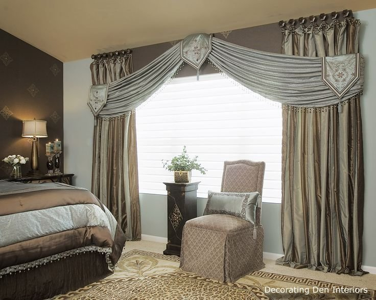 Best Formal And Romantic Bedroom Draperies And Valance Luxury With Pictures