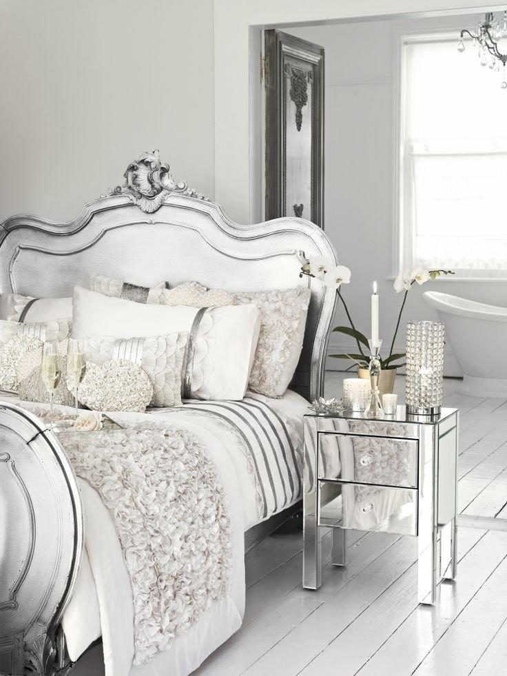 Best 25 Glamorous Bedrooms Ideas On Pinterest Silver Bedroom Decor Glam Bedroom And Chic With Pictures