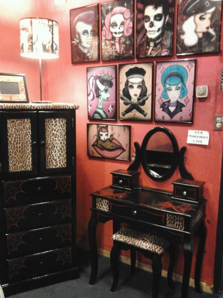 Best 49 Best Rockabilly Diy Home Images On Pinterest Bathroom Bathrooms And For The Home With Pictures