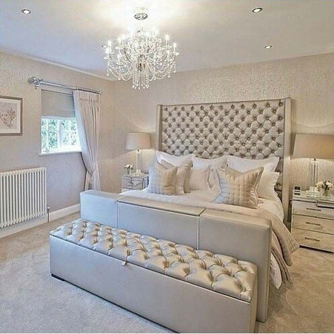 Best 15 Glamour Silver Bedroom Designs Home Decor Bedroom With Pictures