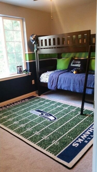 Best Ultimate Seahawks Room 12Th Man In 2019 Room Decor With Pictures