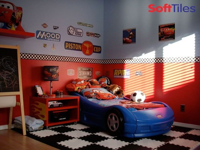 Best Racing Theme Bedroom Kid S Room Ideas Boy Car Room With Pictures